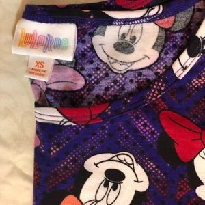 LuLaRoe Tops - Minnie Mouse Lularoe XSmall Irma